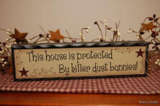 Primitive Country HUMOR WOOD BLOCK sign home decor
