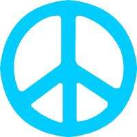 Peace Sign Sticker Decal Graphic