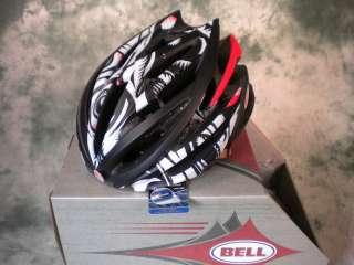 NEW 2011 BELL VOLT CYCLING HELMET WHITE BLACK JIMBO MED