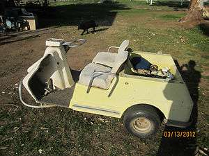 1968 Harley Davidson Golf Cart 1968 Harley Davidson Golf Cart