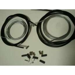 Jagwire Shimano ROAD Brake Shifter Derailleur Cable Set