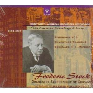 Early North American Recordings   Frederic Stock & Chicago