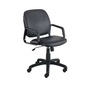Safco Cava® Collection Vinyl High Back Chair Office