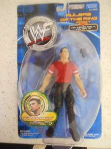 2001 WWF Shane McMahon Rulers of the Ring Series 4 Action Figure NIB