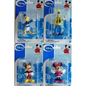 Figurines Mickey, Minnie, Donald & Goofy (Set of 4) Toys & Games