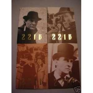 Jeremy Brett 221B Baker Street Issues Sherlock Holmes