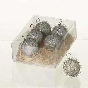 Wendy Addison Boxed Set of Glass and Bullion Christmas