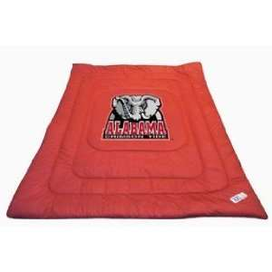 NCAA ALABAMA CRIMSON TIDE LOGO COMFORTER: Sports