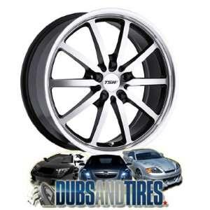 16 Inch 16x7 TSW wheels SEPANG Machined & Black wheels