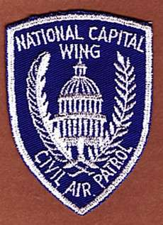 NATIONAL CAPITAL WING   CIVIL AIR PATROL PATCH