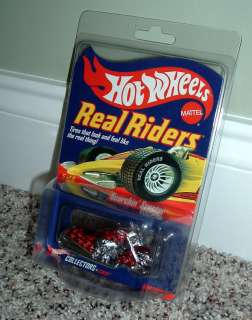 RARE Hot Wheels RLC Real Riders Scorchin Scooter   MOC