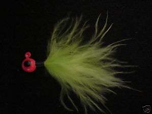 Crappie Jigs Insect Green 1/16 oz Jig Crappie Killer