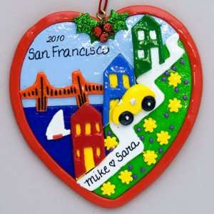 San Francisco Lombard Street Ornament