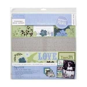 Blue Skies Page Kit 12X12 Arts, Crafts & Sewing