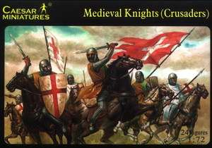 Caesar Miniatures 1/72 017 Medieval Knights (Crusaders)