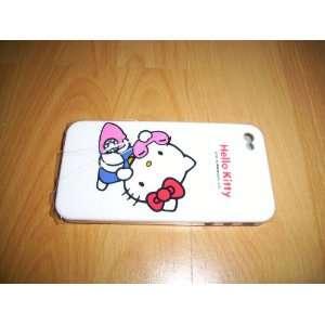 Hello Kitty iPhone 4 4G Hard Case White