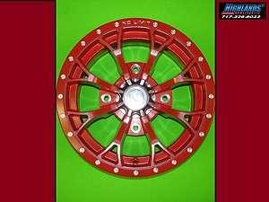wheels for Polaris Ranger & RZR 400 500 570 800 xp 14 custom wheel
