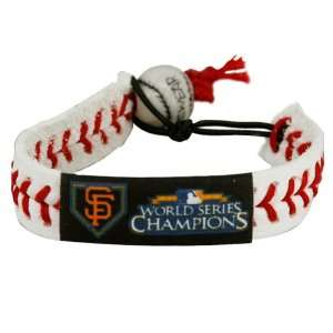 San Francisco Giants 2010 World Series Champions White