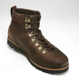 UGG Capulin Mens Brown Sheepskin Waterproof Hiking Boot Size 11 US NEW