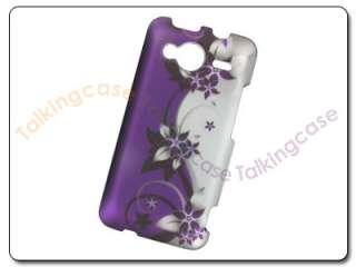 Purple Vine Flower Case Cover Sprint HTC Evo Shift 4G