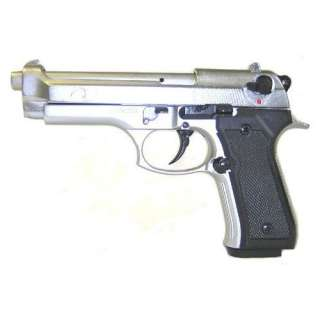 F 92 Metallic Blank Firing Replica Starter Pistol 9mm