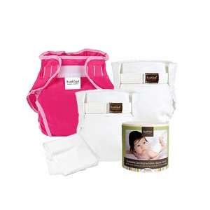 Kushies Classic Cloth Diaper Gift Set for Girls   Infant Baby