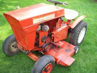 1963 JACOBSON CHIEF RIDING LAWN MOWER / GARDEN TRACTOR NICE