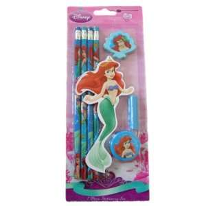 Disney Little Mermaid Ariel 7 Piece Stationery Set Toys