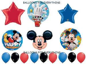 Disney Mickey Mouse Clubhouse Deluxe Balloons