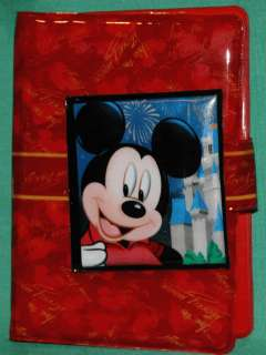 DISNEY MICKEY MOUSE NOTE PAD AUTOGRAPH BOOK NEW
