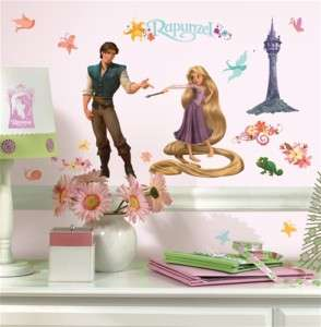 Disney Tangled Rapunzel Wall Decals Stickers Decor