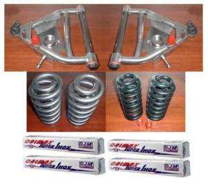 DJM 5 5 Drop Lowering kit Chevy GMC C10 63 72 w/ Shocks