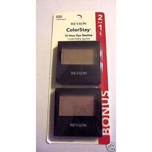 Revlon ColorStay 12 Hour Eye Shadow 2 For 1 Champagne #020