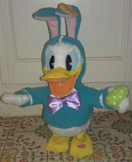 Pull My Ears Dancing & Singing 11 Plush Donald Duck with tags