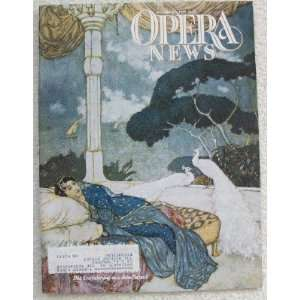 Opera News Magazine. December 7, 1991. Single Issue
