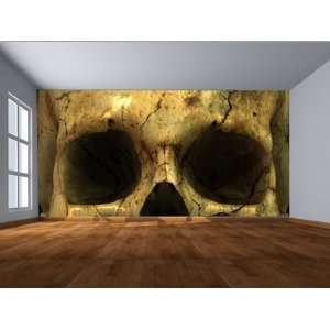 8 X 8 Foot Wallpaper, Skull Eyes: Home Improvement