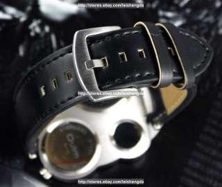 COOL Mens Fashion Dual Time Zone BIG Army Quartz Watch