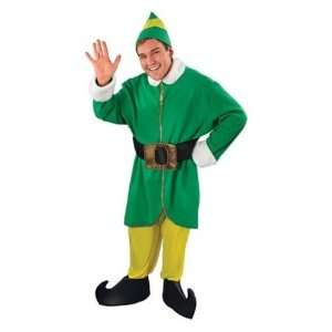 Elf Deluxe Male 5pc Christmas Fancy Dress Costume Toys & Games
