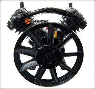 3HP Twin Cylinder Air Compressor Head Pump 140PSI V Type Air Tools