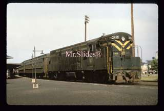Duplicate Slide CNJ Jersey Central Fairbanks Morse H24 66 2410 W