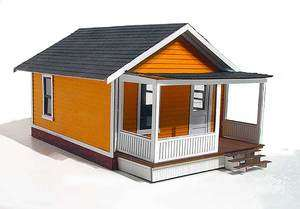 HO scale The DRAYTON catalog home   a laser cut kit by Branchline