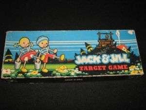 Vintage 1948 Jack & Jill Target Game by Cadaco