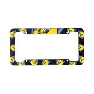 Chroma Graphics,Inc. 6032 Tweety Auto Tag Frame