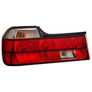 1988 1994 BMW E32 7 Series KS Red/Clear Tail Lights