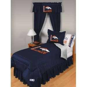 NFL Denver Broncos Locker Room Twin Comforter