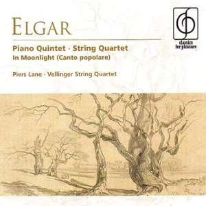Elgar Piano Quintet; String Quartet; In Moonlight (Canto
