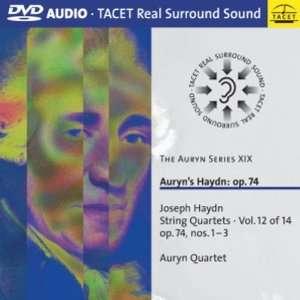 Auryns Haydn: op.74: Auryn Quartet, Joseph Haydn, Not
