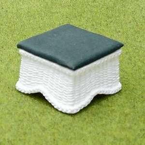 Dollhouse Miniature Quicker Wicker Ottoman Kit Toys
