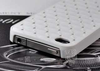 Luxury Bling Rhinestone Diamonds Hard Case Cover Skin For IPhone 4 4G
