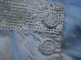 1920's DEPRESSION ERA ANTIQUE WOMAN'S UNDERWEAR w/ LACE